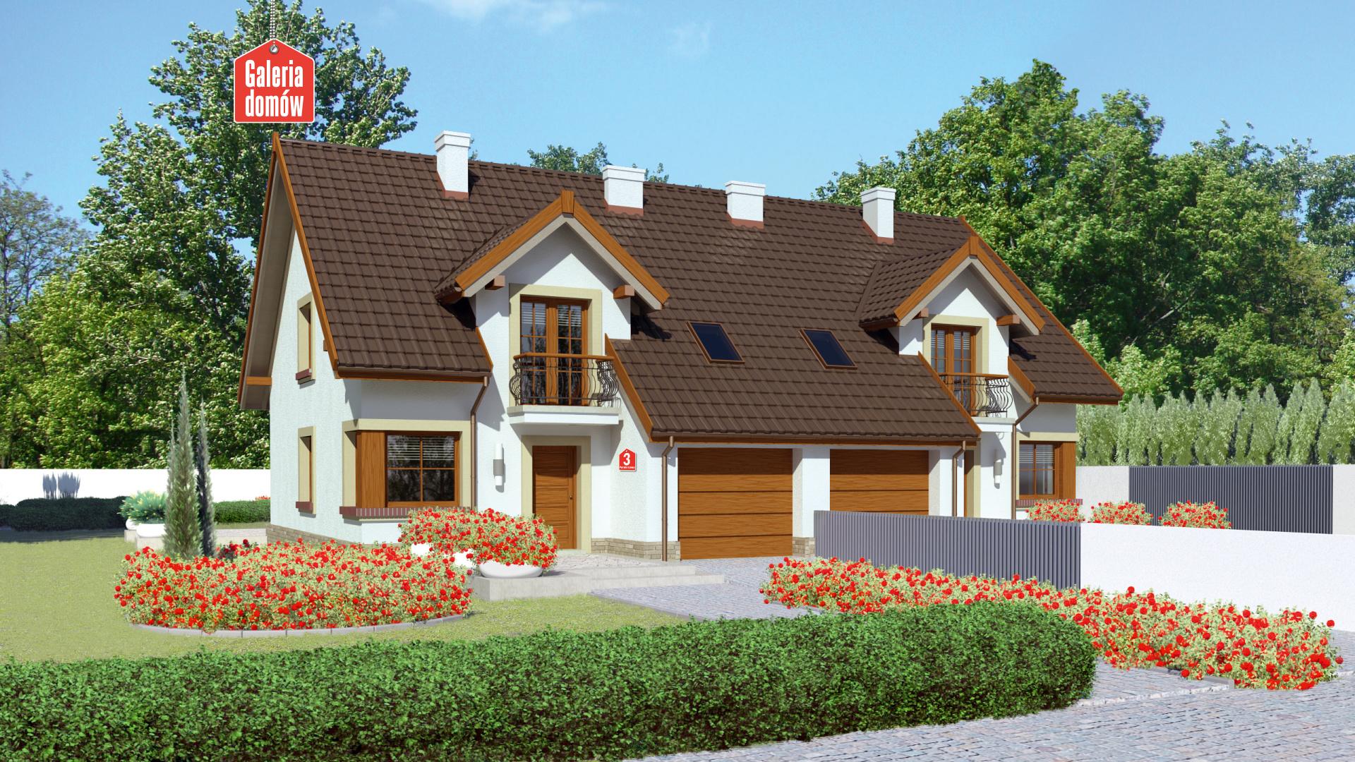 Dom przy Amarantowej 3 - zdjęcie projektu i wizualizacja