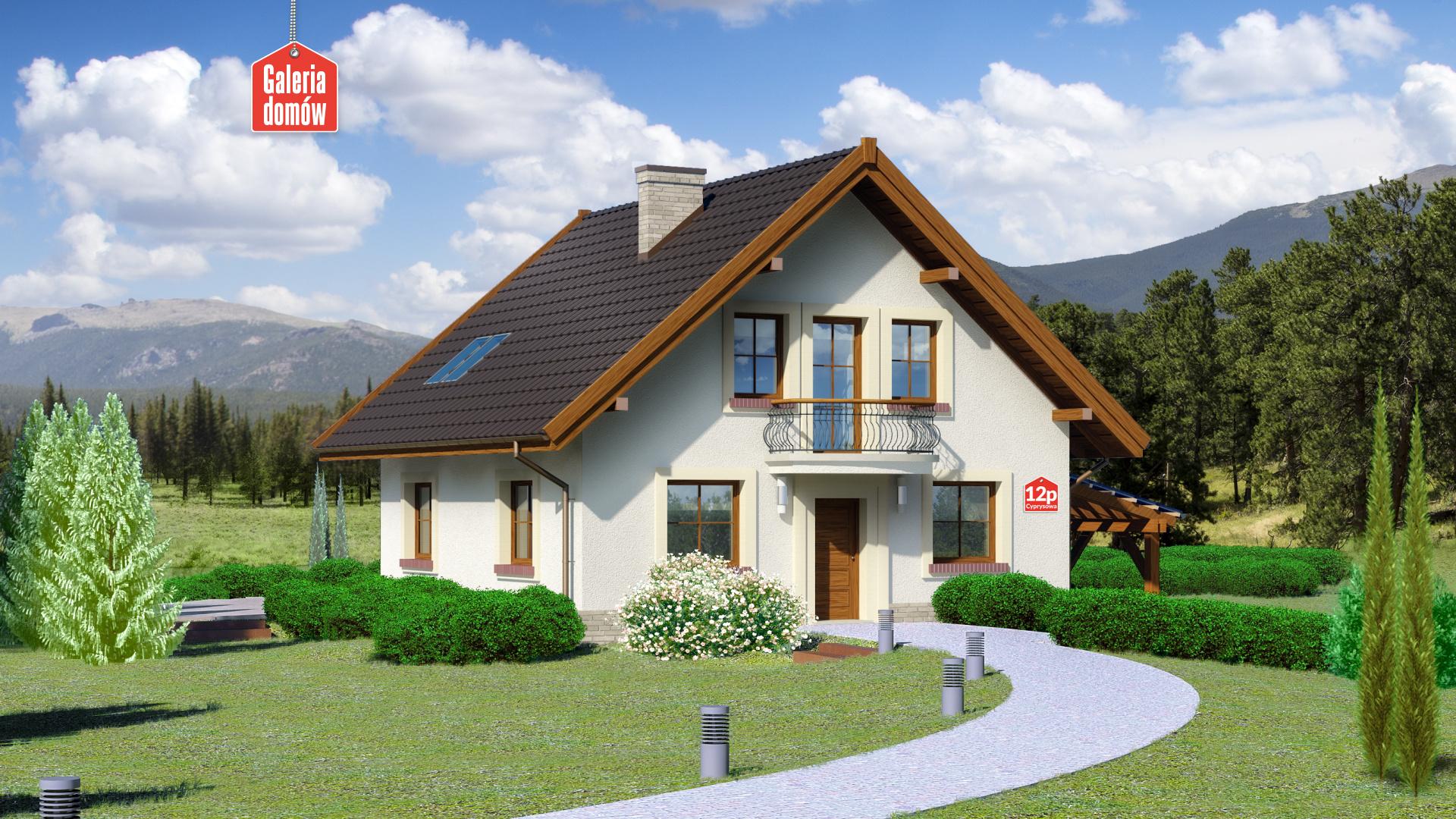 Zdjęcie projektu Dom przy Cyprysowej 12 P
