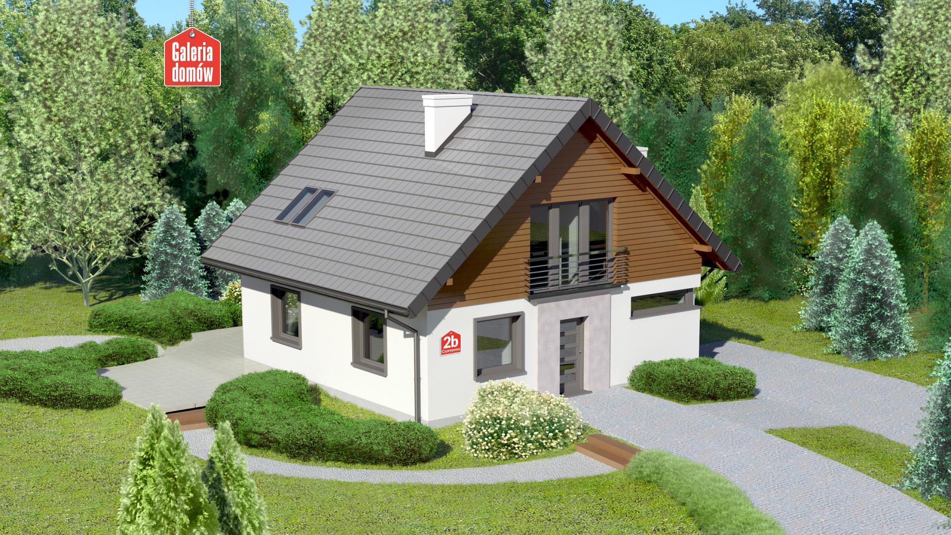 Dom przy Cyprysowej 2 bis