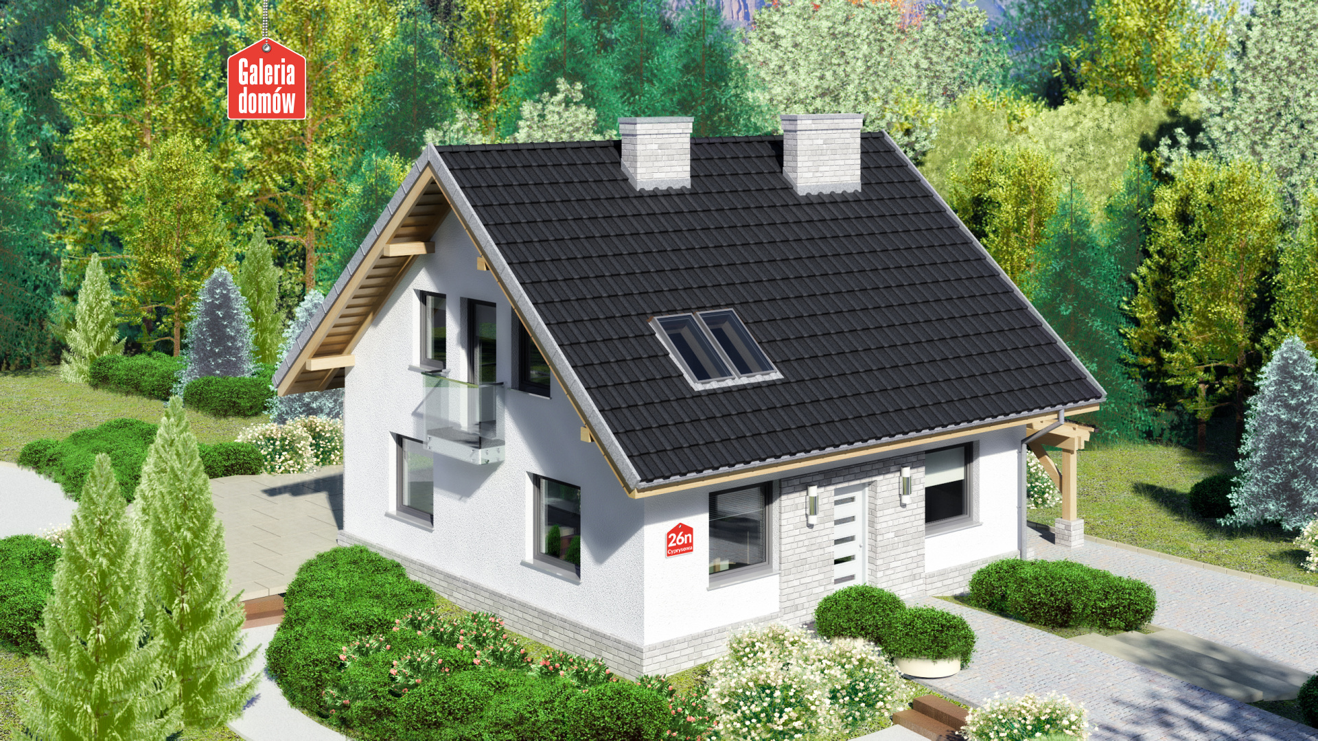 Zdjęcie projektu Dom przy Cyprysowej 26 N
