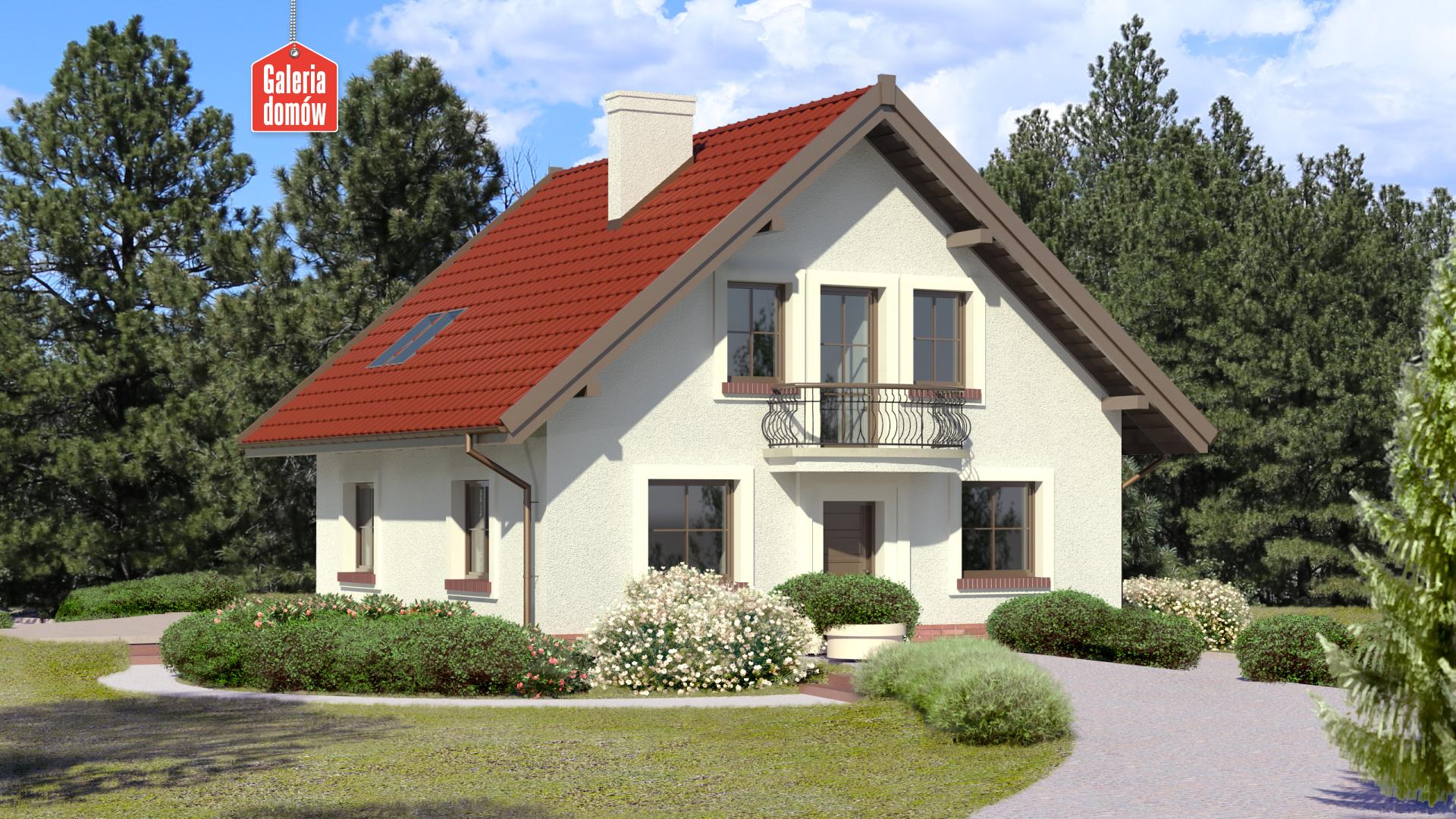 Dom przy Cyprysowej 46 - zdjęcie projektu i wizualizacja