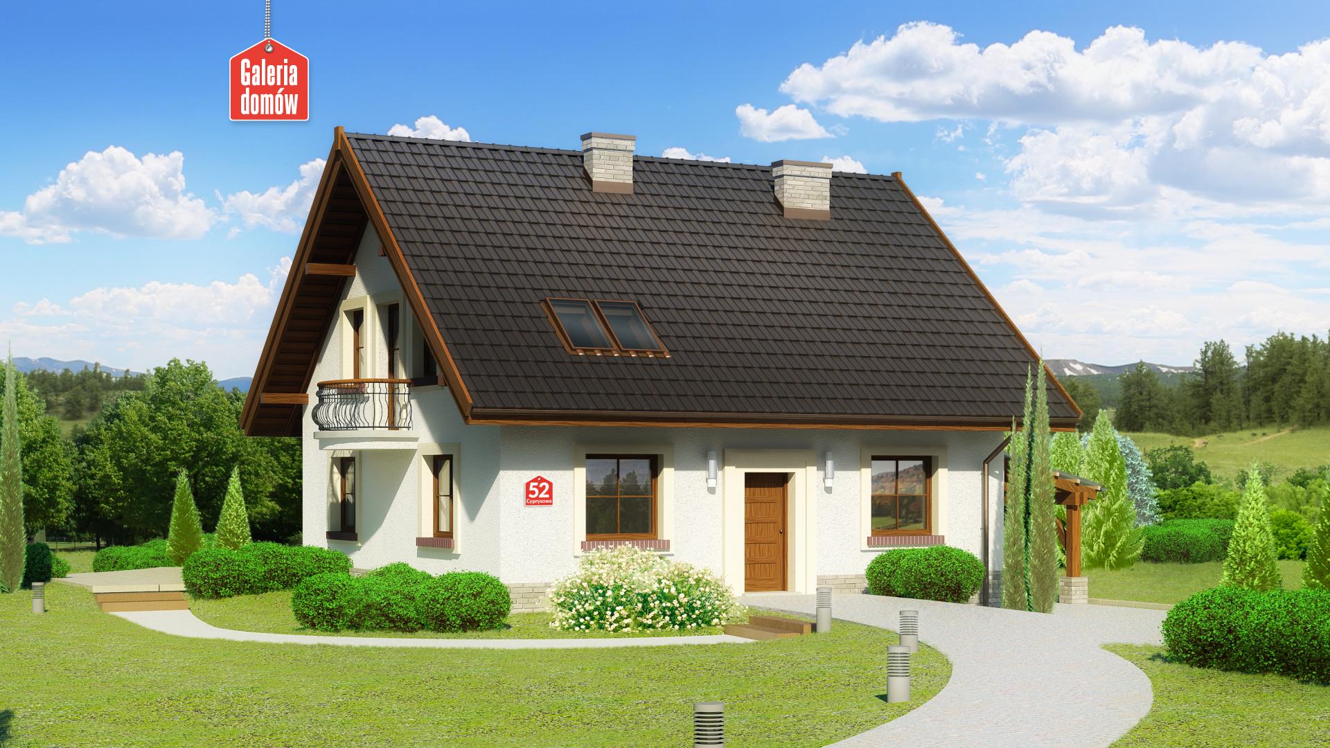 Zdjęcie projektu Dom przy Cyprysowej 52