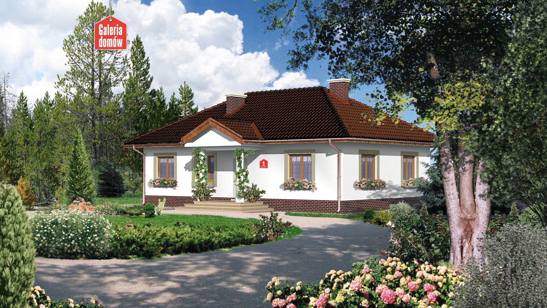 Dom przy Klonowej - zdjęcie projektu i wizualizacja