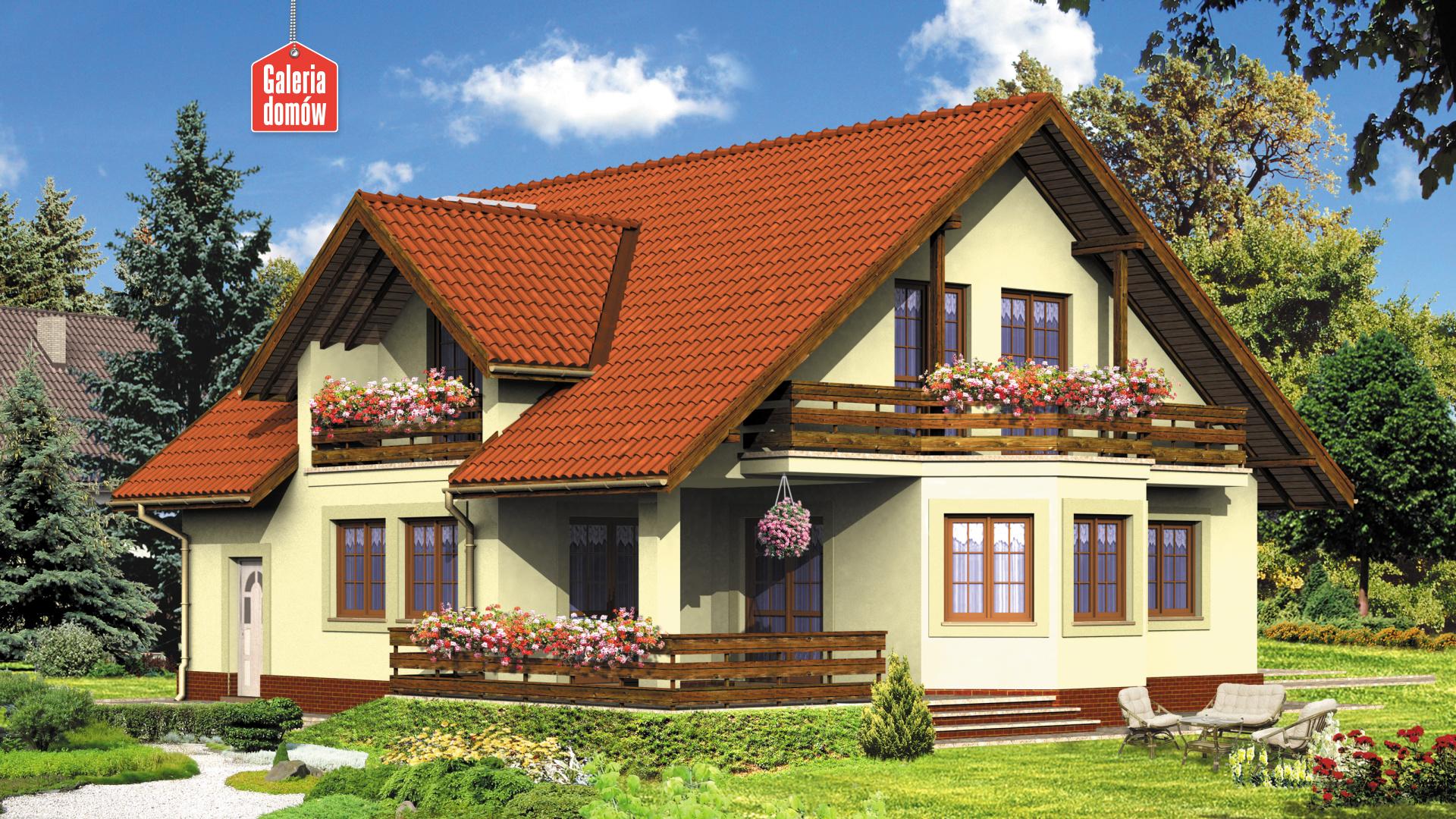 Dom przy Miodowej - zdjęcie projektu i wizualizacja