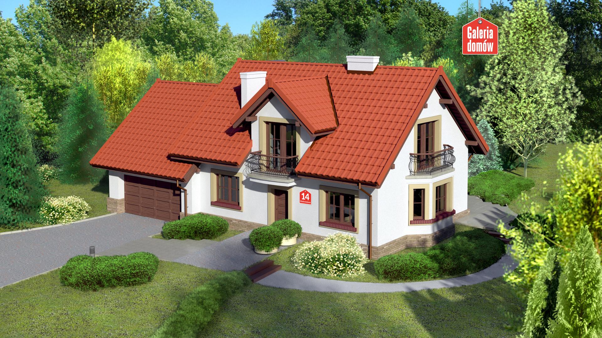 Dom przy Modrzewiowej 14