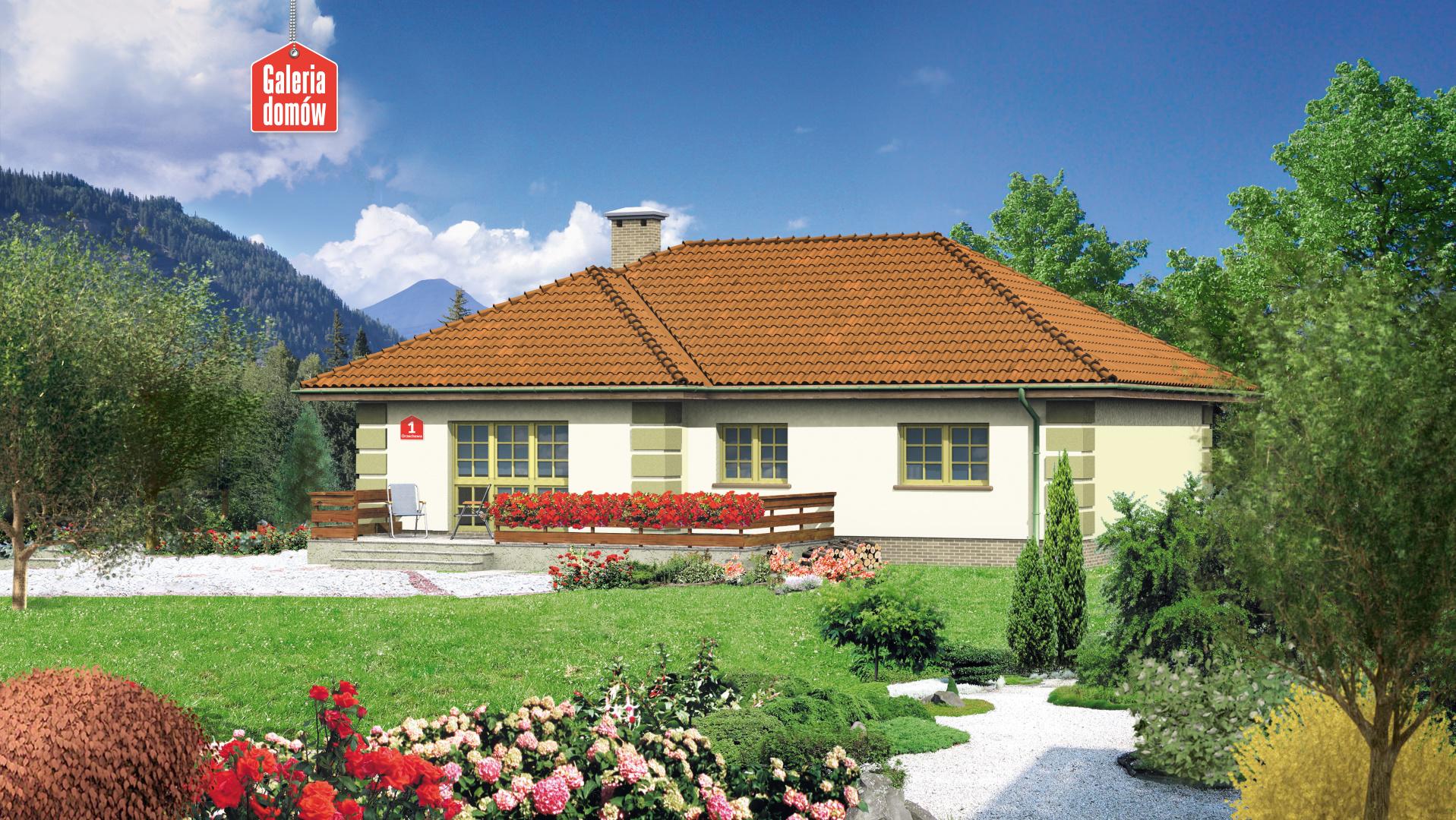 Dom przy Orzechowej - zdjęcie projektu i wizualizacja