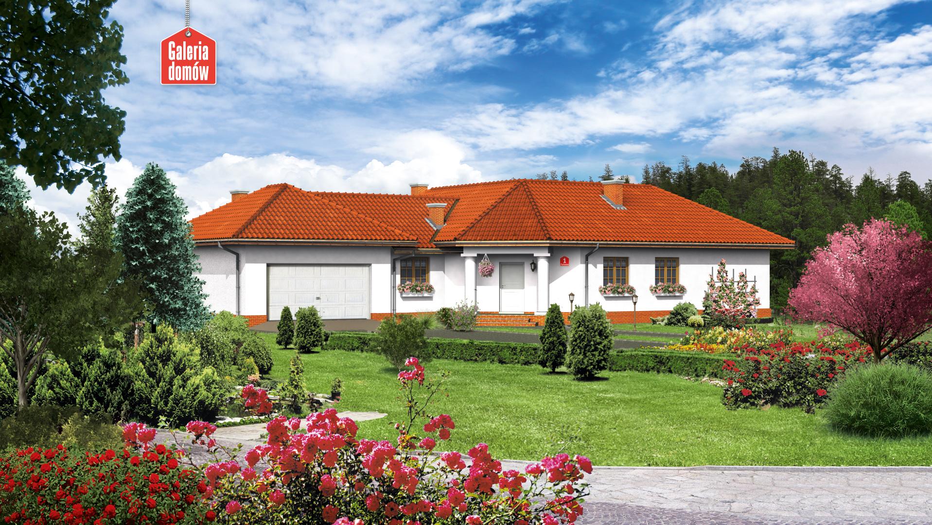 Zdjęcie projektu i wizualizacja: projekt domu Dom przy Parkowej