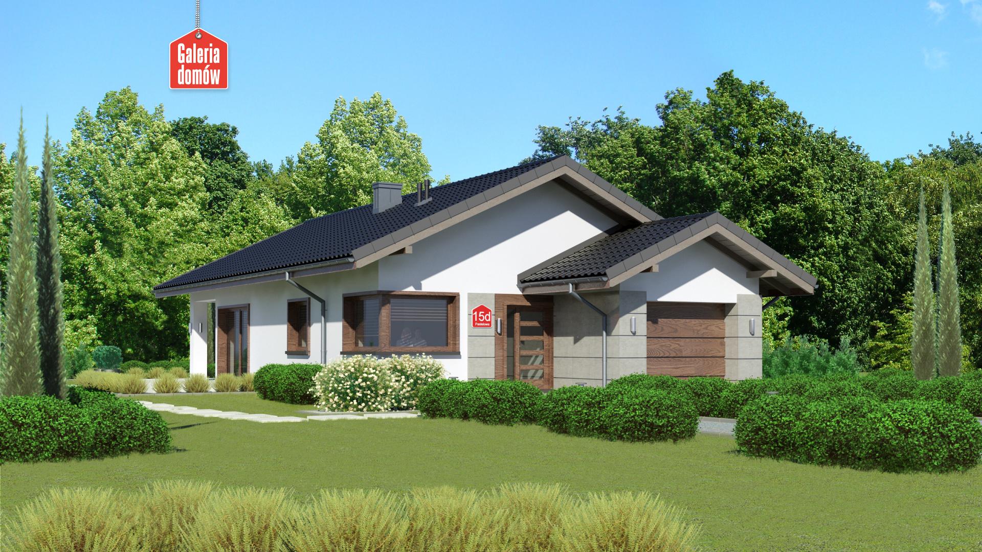 Dom przy Pastelowej 15 D - zdjęcie projektu i wizualizacja