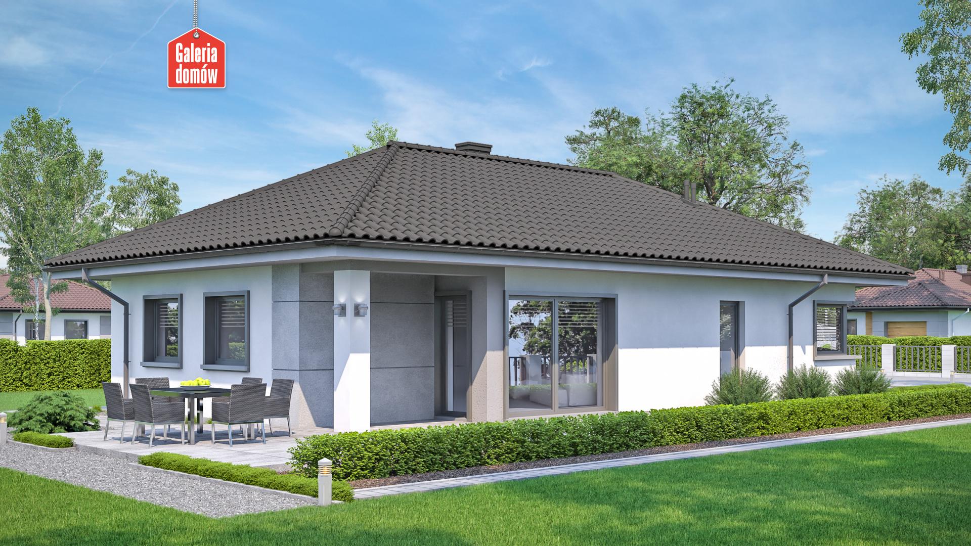 Dom przy Pastelowej 16 - zdjęcie projektu i wizualizacja