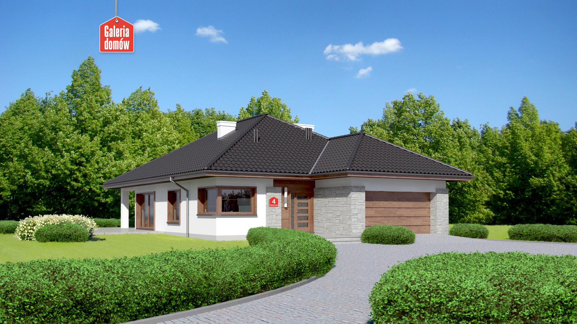 Zdjęcie projektu Dom przy Pastelowej 4 bis