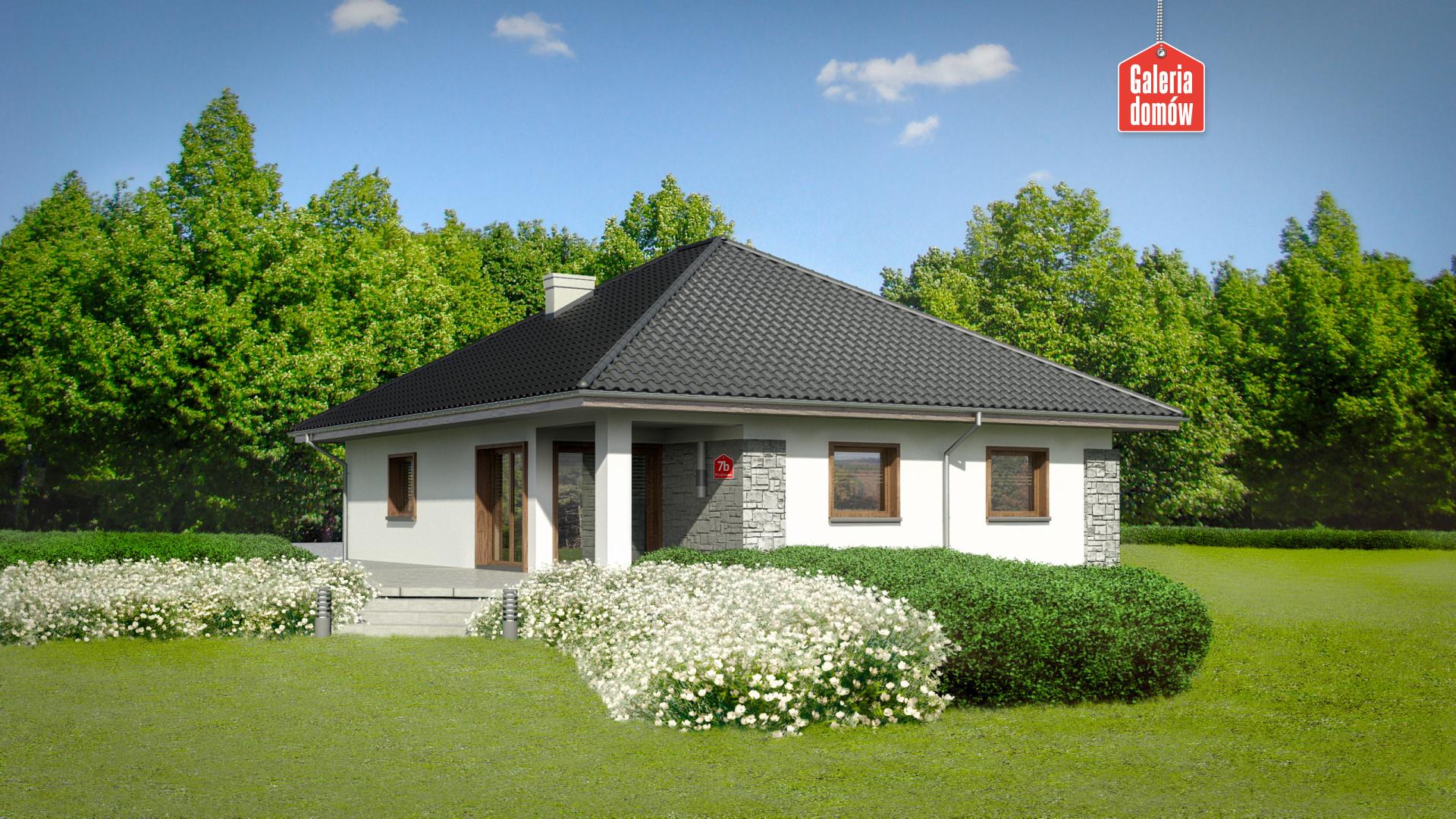 Dom przy Pastelowej 7 bis - widok dodatkowy