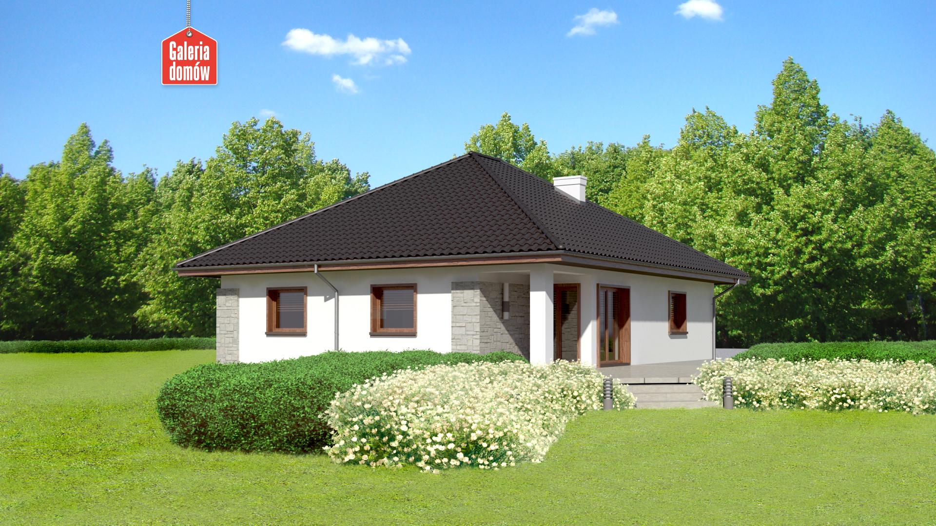 Dom przy Pastelowej 8 bis - widok dodatkowy