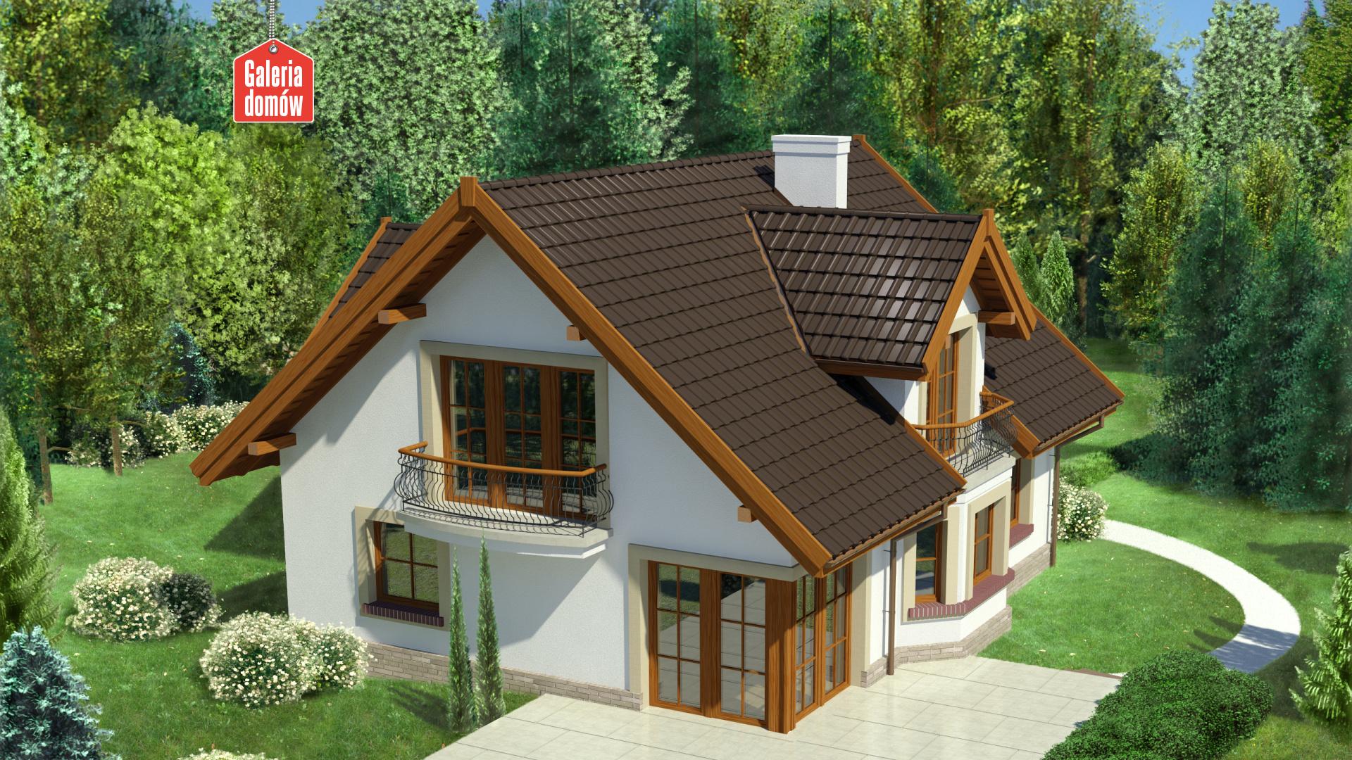 Dom przy Pomarańczowej 2 - widok dodatkowy