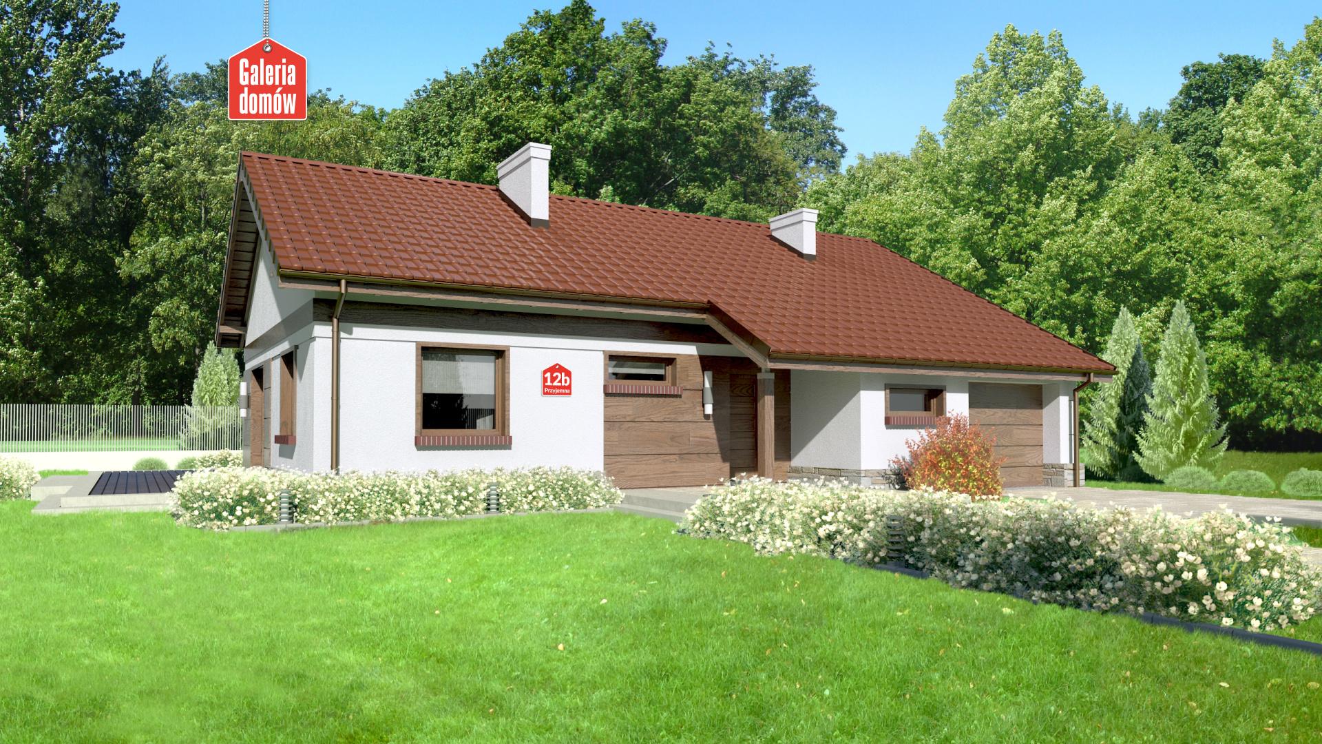 Dom przy Przyjemnej 12 bis - zdjęcie projektu i wizualizacja