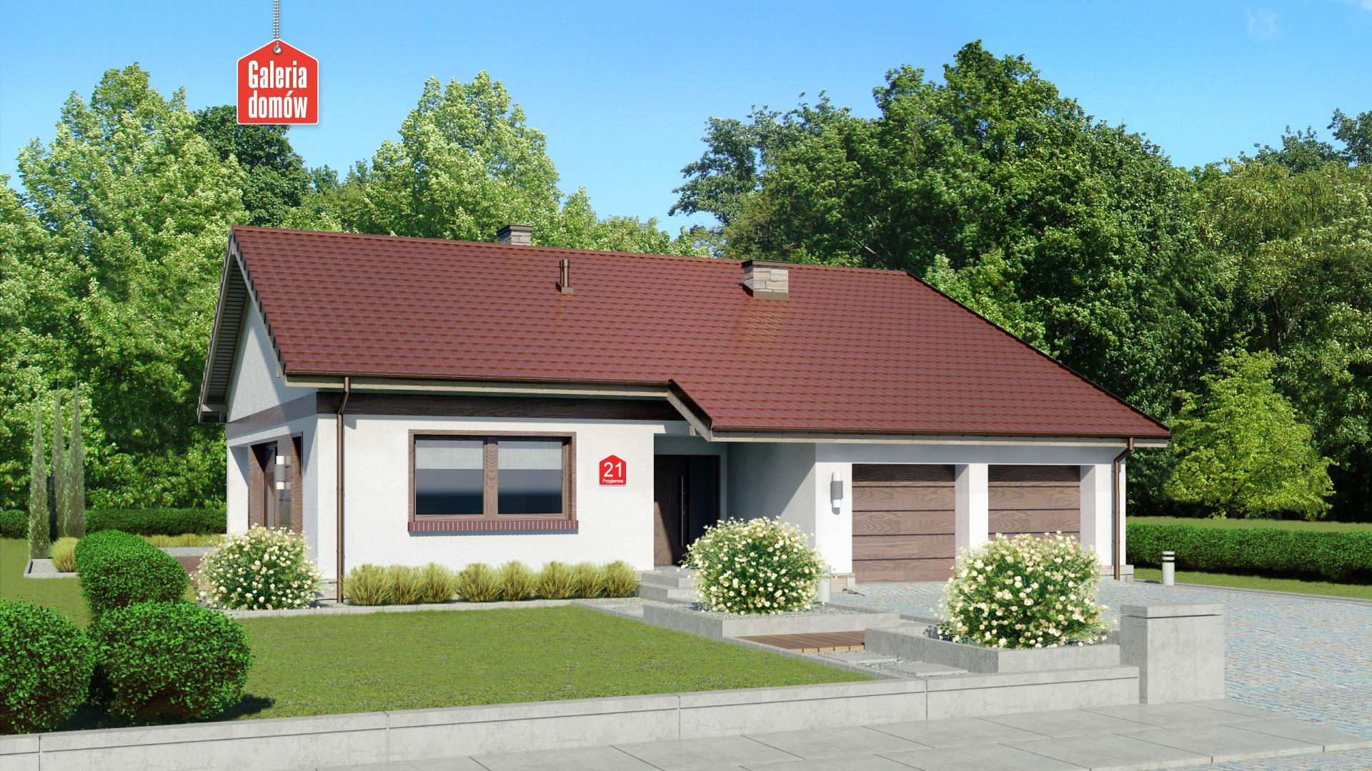 Dom przy Przyjemnej 21 - zdjęcie projektu i wizualizacja