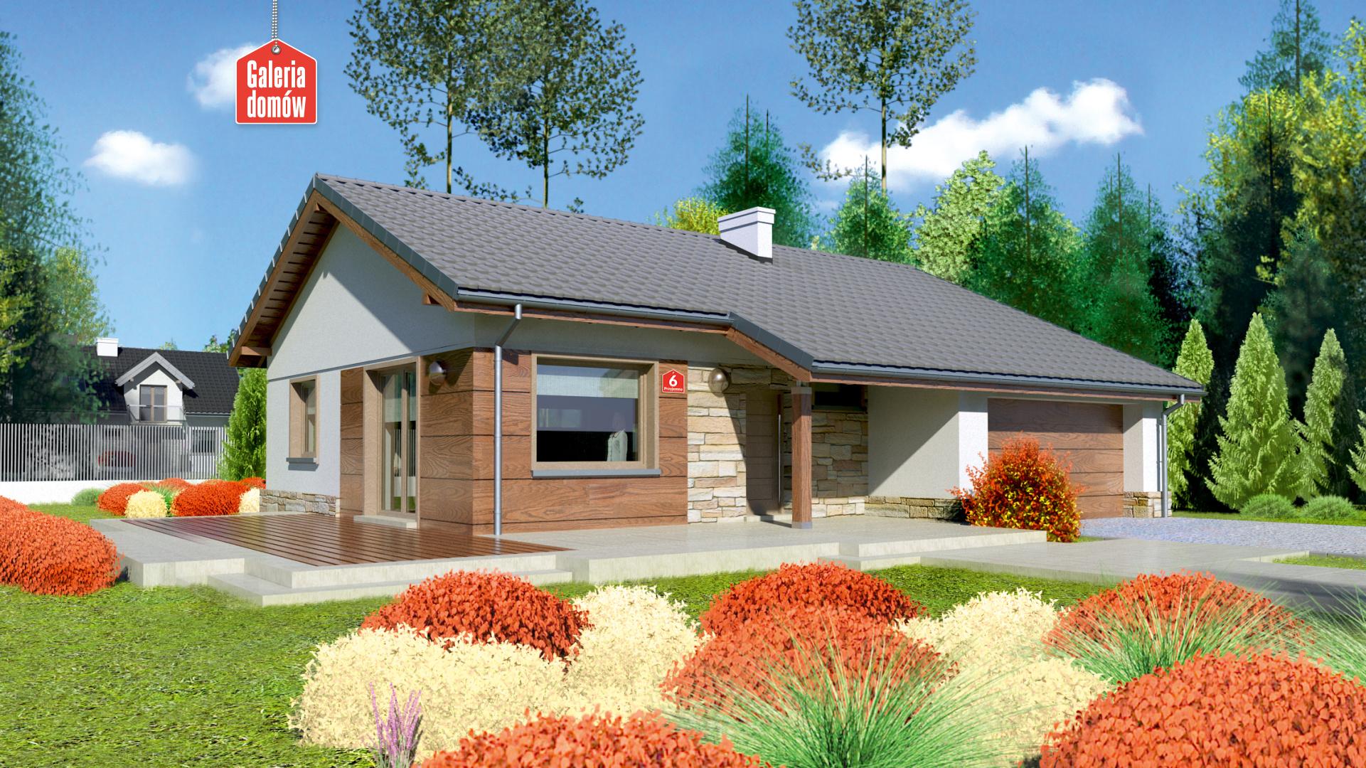 Dom przy Przyjemnej 6 bis - zdjęcie projektu i wizualizacja