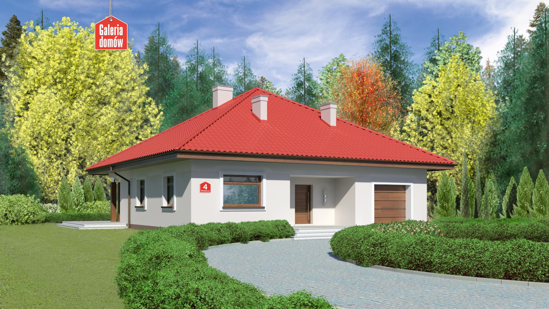 Zdjęcie projektu Dom przy Rubinowej 4